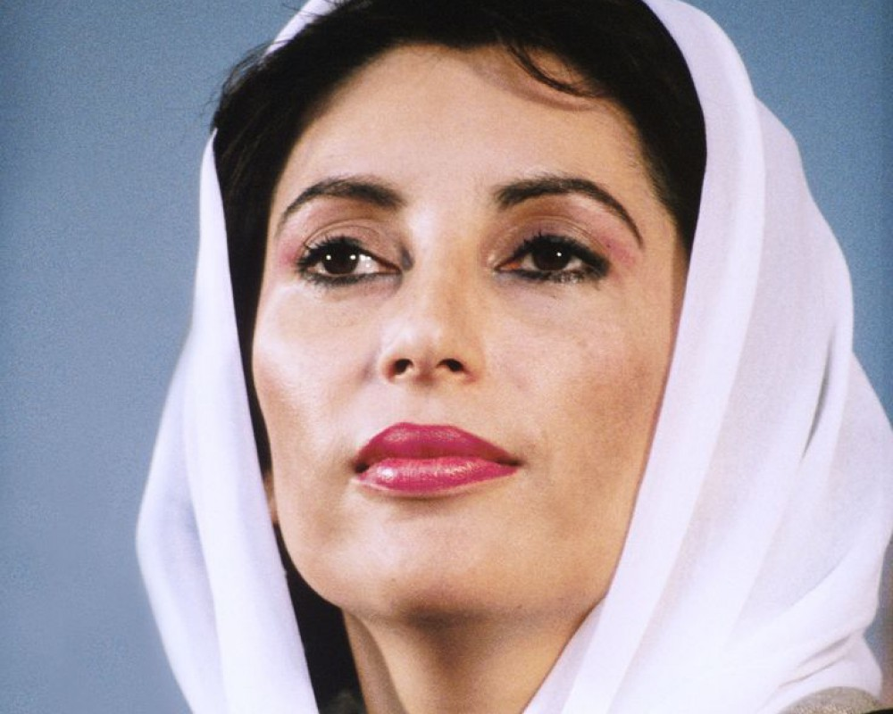 Anti-Benazir Propaganda Campaign Preceded her Return to Pakistan