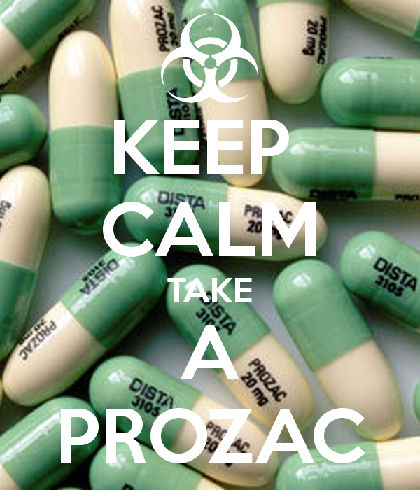 Why to take prozac