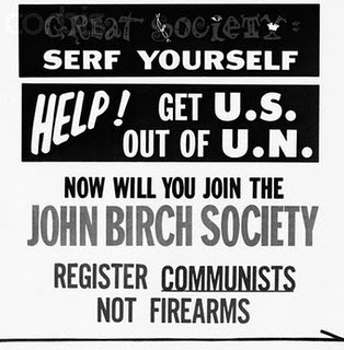 Rifle-Toting Obama Protester was a John Birch Society Member