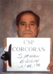 Sirhan Sirhan is Moved to New Site