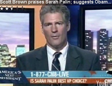 Scott Brown, Wingnut: Smeared Obama as Born Out of Wedlock