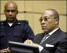 Liberia's Charles Taylor, Facing Trial, was no Stranger to Washington