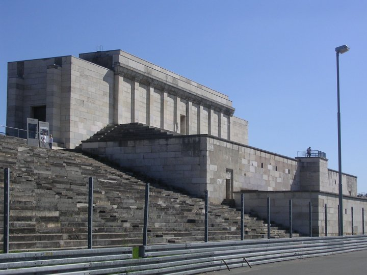 Nazi Architecture at Zepplin Field, Nuremburg