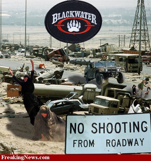 Bush's State Department Blocked Blackwater Investigation