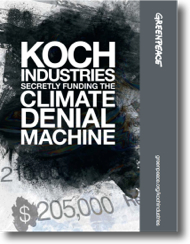Greenpeace Takes Aim at Koch Industries