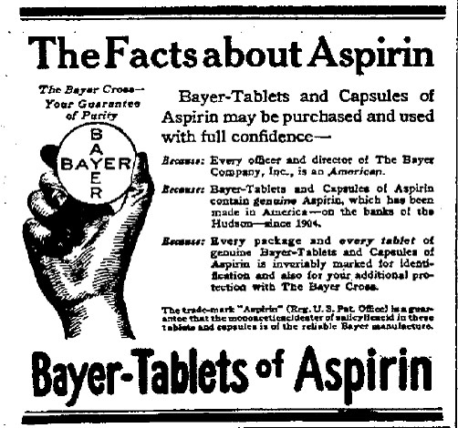 The Story of Aspirin