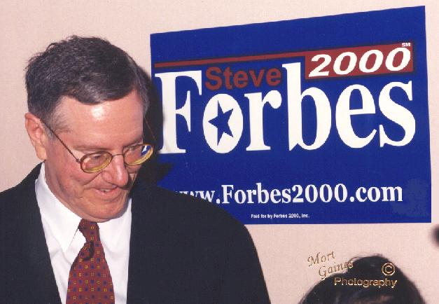 Pioneer Fund: The Steve Forbes Connection