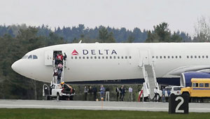 Suspect in Delta Bomb Threat is a Former Air Force Intelligence Officer