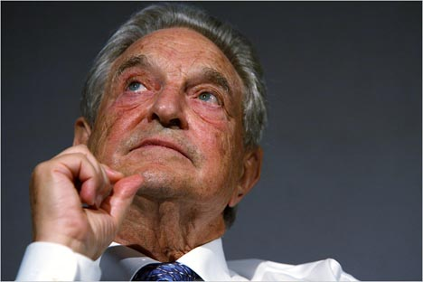 Video: George Soros and Google CEO Go Way Back