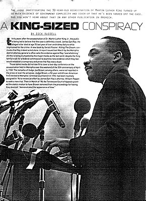 The Martin Luther King Conspiracy Exposed in Memphis