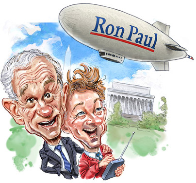 Rand And Ron Paul Hide Racism & Birch Society Fascist Front Ties in Libertarianism