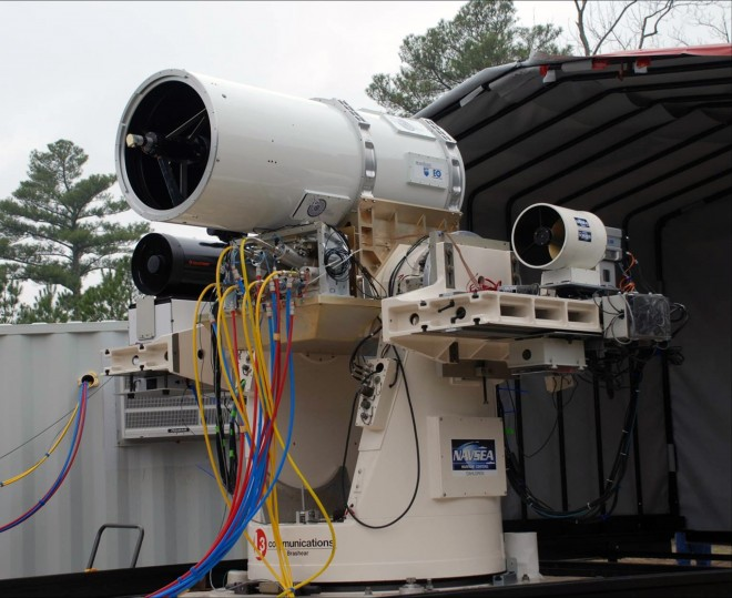 Navy's Drone Death Ray Takes Out Targets at Sea