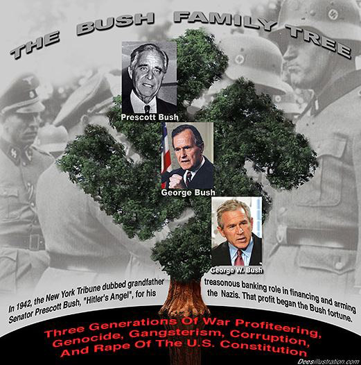 "Connecticut: Slapstick at the Annual GOP Prescott ""Hitler's Sugar Daddy"" Bush Fundraising Dinner"