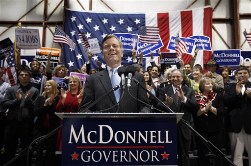 virginia gov. bob mcdonnell thesis Virginia governor bob mcdonnell is in the news again this week he was appointed chairman of the republican governors association (rga) and the resulting increased.