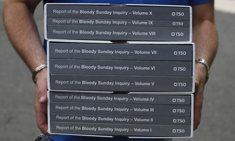 UK: Key Findings of the Bloody Sunday Inquiry