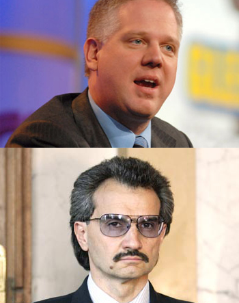 Beck Blames One Of Fox News' Largest Shareholders, Saudi Prince Alwaleed Bin Talal, for 9/11
