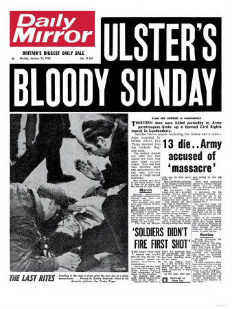 Bloody Sunday Soldiers Like 'Nazi Stormtroopers' / Perjury Charges Sought against Bloody Sunday Soldiers