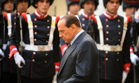 P2′s Berlusconi in Peril as Old Ally and 33 MPs Desert Him Over Scandals