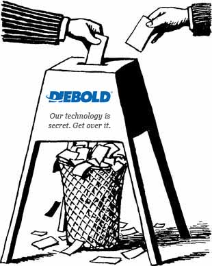 Former Diebold E-Voting Unit Settles Ohio Dropped Votes Lawsuit