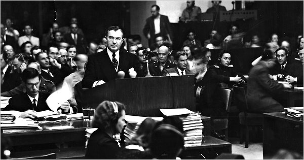Rare Scenes Re-Emerge From Nuremberg Trials