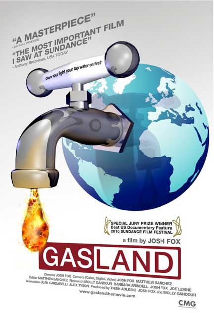 Interview with 'Gasland' Director Josh Fox (re the Environmental Destruction Caused by Drilling & Fracking Shale)