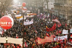 France Protests Against Sarkozy's Security Crackdown
