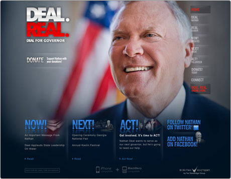 """1) Georgia GOP Chooses Nathan Deal – Formerly Among """"15 Most Corrupt Members of Congress"""" – in Gubernatorial Primary, 2) Neo-Nazis have Supported Deal for at Least Five Years"""