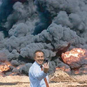 1) Phony Tony Blair Joins the Bourgeoisie, 2) Iraq's Still Suffering as Blair Cashes In
