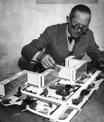 Nazi Praise Sparks Swiss Rethink of Le Corbusier