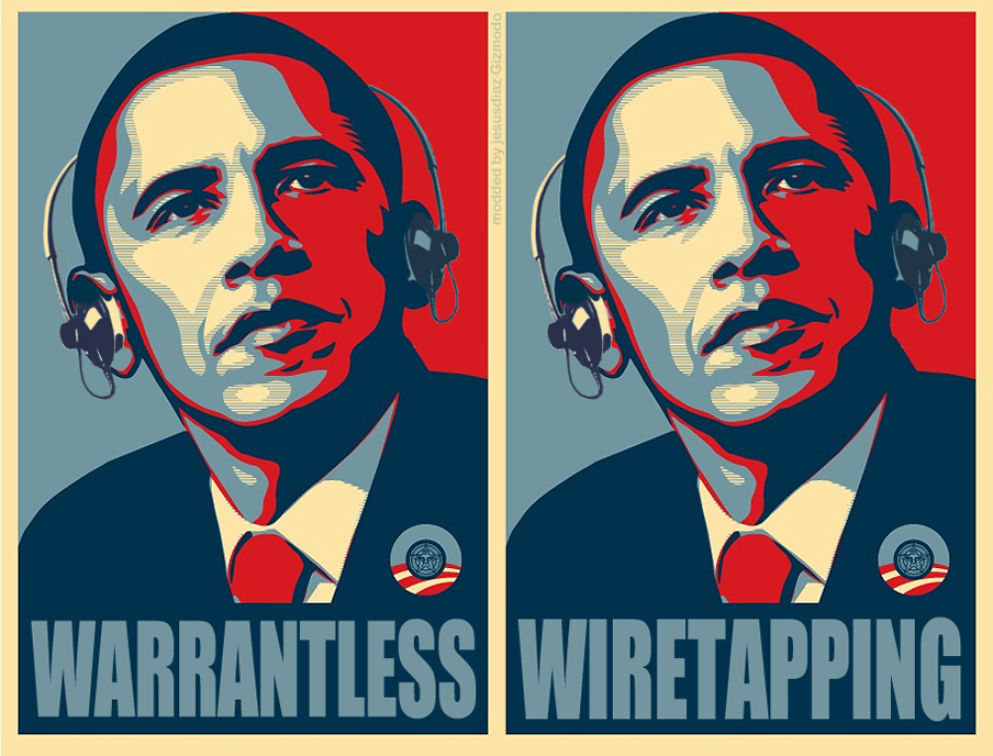 Image result for wiretapping obama