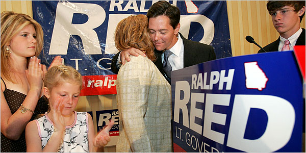 The Resurrection of Theocratic Huckster Ralph Reed