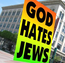 Westboro Baptist Church Returns, Protests Jews