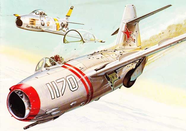 Soviet MiG 15 was a Derivative of Nazi Aviation