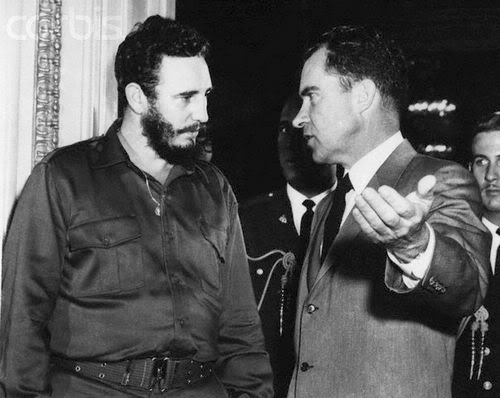 The Day Nixon Met Castro