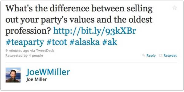 Alaska GOP Chairman Criticizes Joe Miller's Phony Voter Fraud Claims