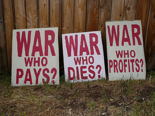 Good Profits and Obama's 'Good War'
