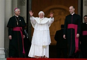 Springtime for Franco and Pope Benedict