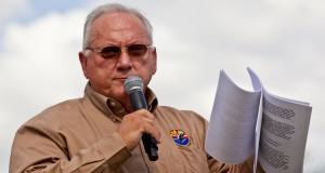Russell Pearce, Arizona Political Leader and Author of SB1070, Attends Neo-Nazi Rallies