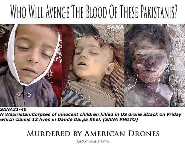 'US Drones Killed 938 in Pakistan in 2010