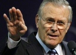 The Reemergence of Donald Rumsfeld Begins