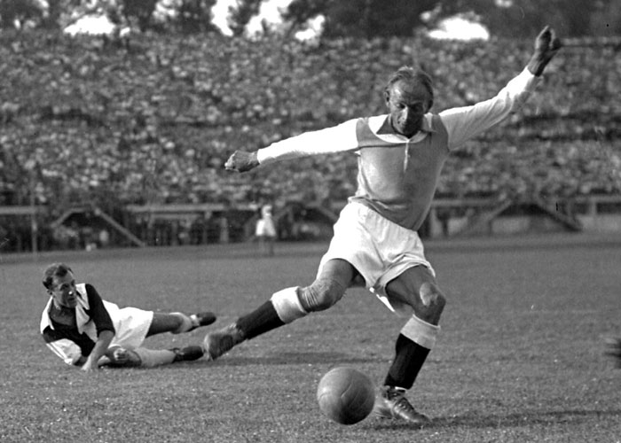 Sports: The Sudden Death of Matthias Sindelar in Nazi-Occupied Austria