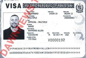Pakistan Detainee Raymond Davis Works for CIA Contractor