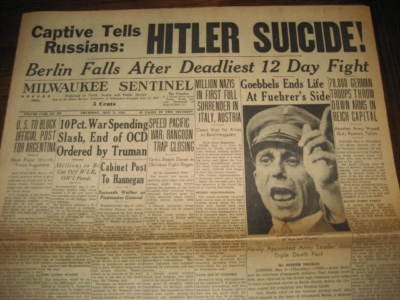 FBI Believed Hitler Faked His Own Death in 1945