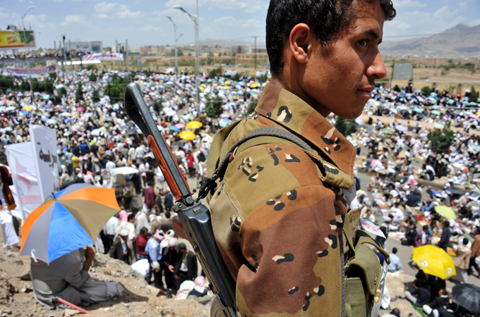 Hueys Over Yemen: How to Arm a Dictator