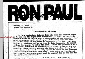 WaPo: Associates say Ron Paul Signed Off on Racist Newsletters