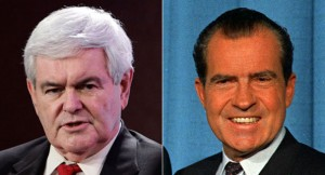 Newt Gingrich's Richard Nixon Connection (Politico)