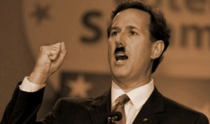 "Fascist Deflection Tactics for Dummies: ""Rick Santorum Cries Nazi"" (WaPo)"