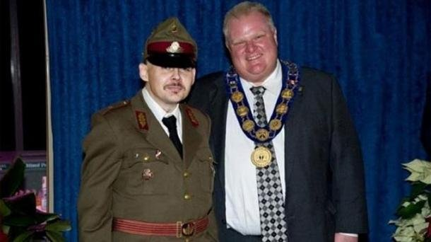 Toronto Mayor in Hot Water over Photograph with Neo-Nazi