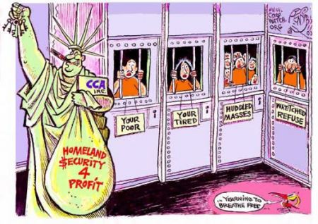 Private Prisons Raking in Profits - Locking Up Illegal Immigrants Lucrative, Report Finds