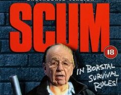 "British Activists Protest Murdoch's ""Media Mafia"""